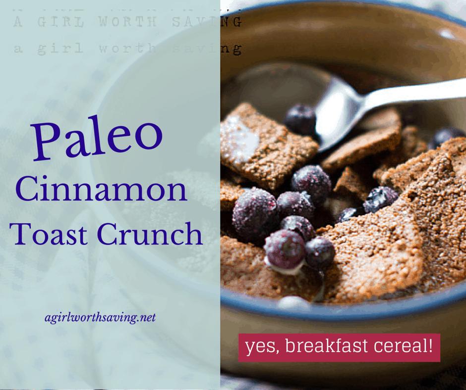 gluten free cereal paleo cinnamon toast crunch