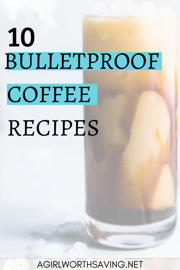 Photo of iced bulletproof coffee