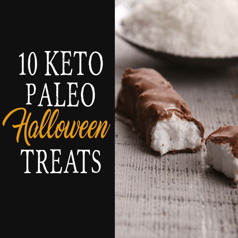 10 Keto Paleo Halloween Treats