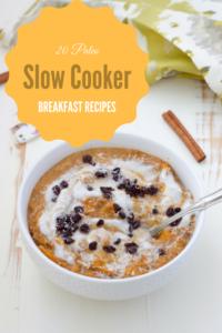 20 Paleo Slow Cooker Breakfast Recipes