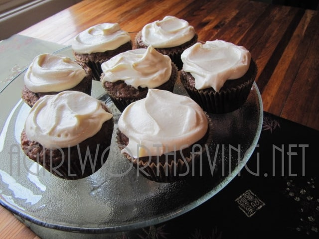GF Carrot Cupcakes