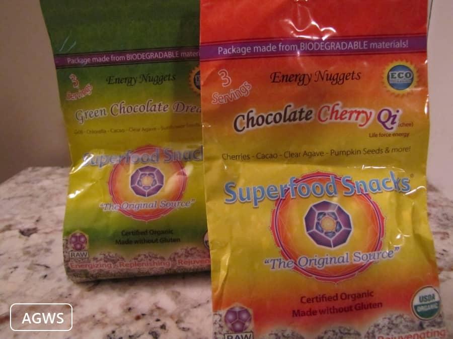Raw Chocolate Superfood Snacks