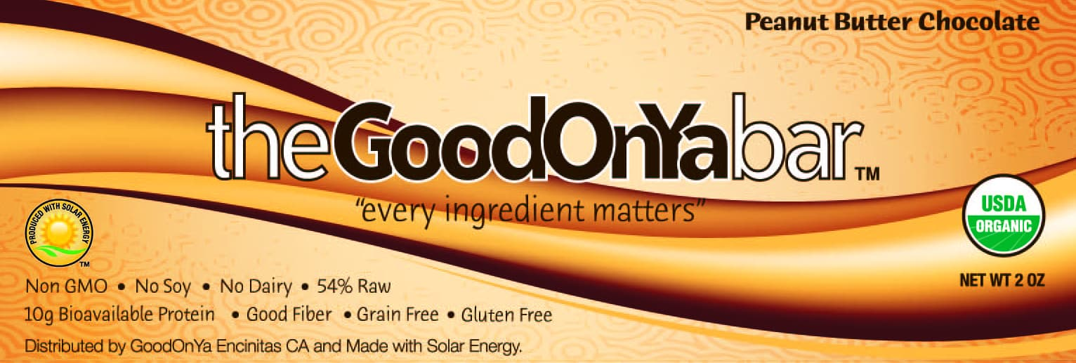 Share your GoodOnYa Bar love and Enter to win a box