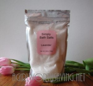 Simply Bath Salt