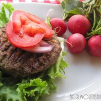 Tasty Beef and Liver Burger Recipe