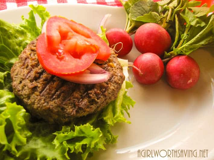 Beef and Liver Burger