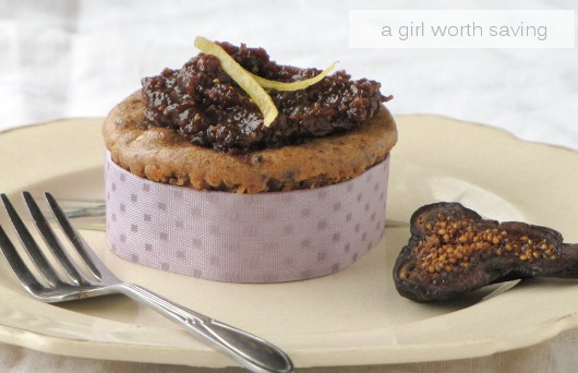 Fig and Grapefruit Cheesecake