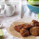 Grain free Apple Fritters