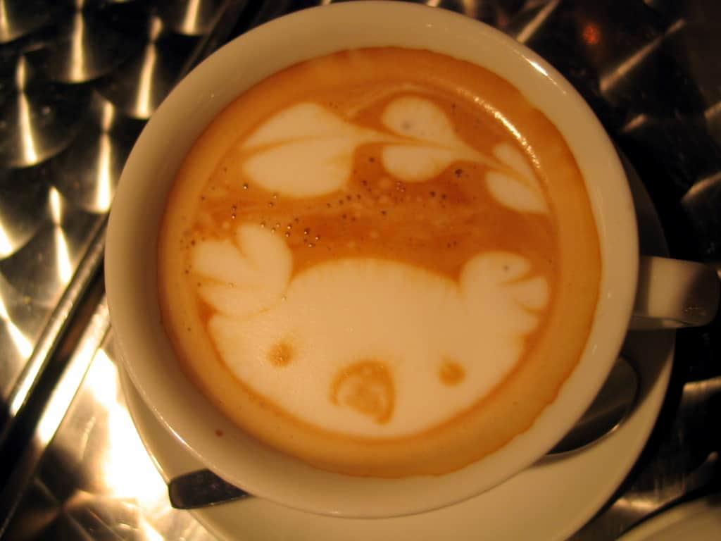 cute coffee art