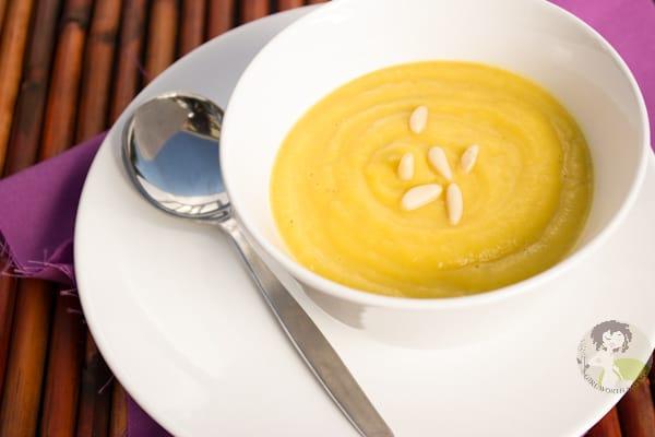 PALEO Delicata Squash Soup