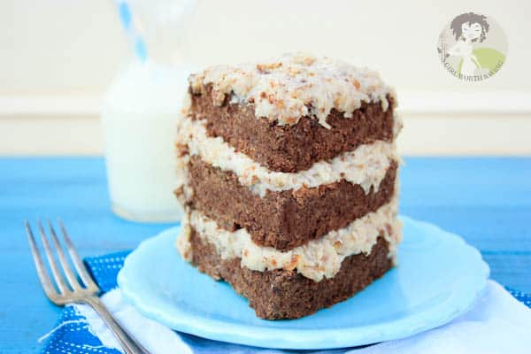 German Chocolate Cake With Maple Syrup Instead Of Syrup
