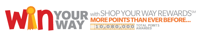 SHOP WITH POINTS WIN YOUR WAY