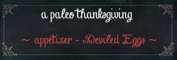 deviled eggs paleo thanksgiving