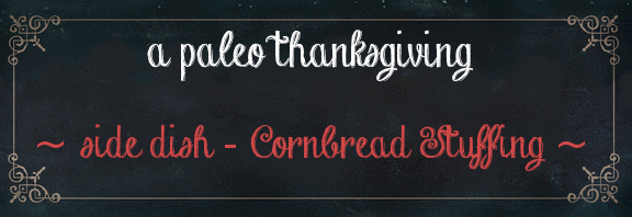 thanksgiving stuffing recipe paleo