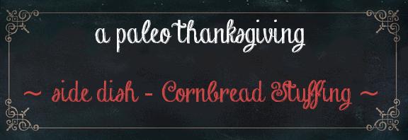 thanksgiving stuffing recipe paleo