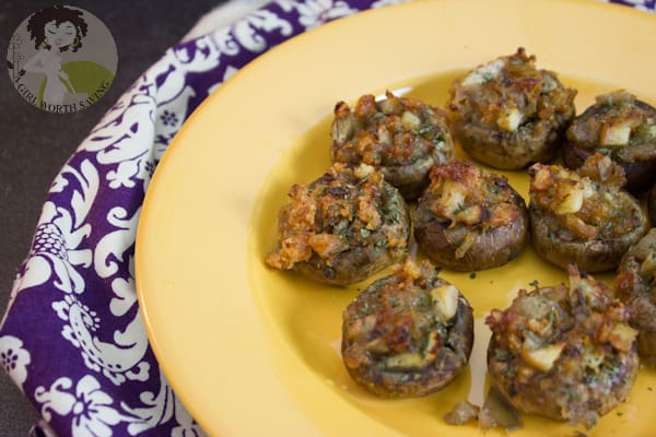 paleo appetizer stuffed mushrooms