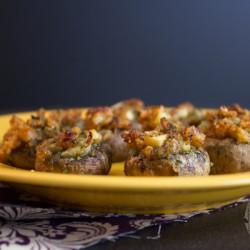 paleo appetizer stuffed mushrooms
