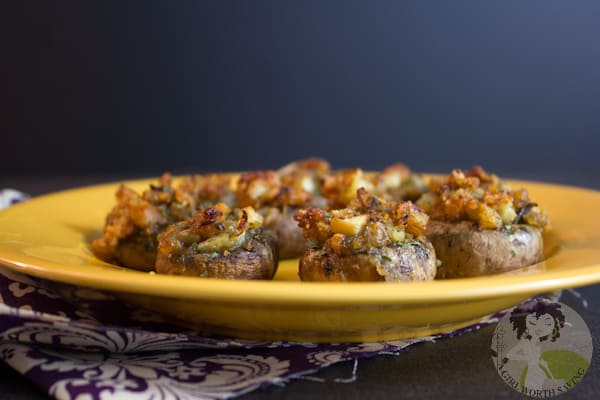 Paleo Stuffed Mushrooms