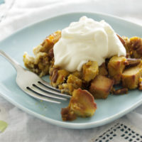 Paleo Pumpkin Bread Pudding