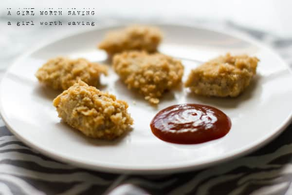 Paleo oven bakedchicken nuggets paleo chicken nuggets ccuart Gallery