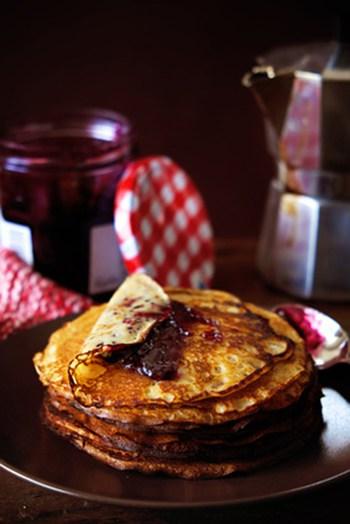 Paleo Breakfast Crepes