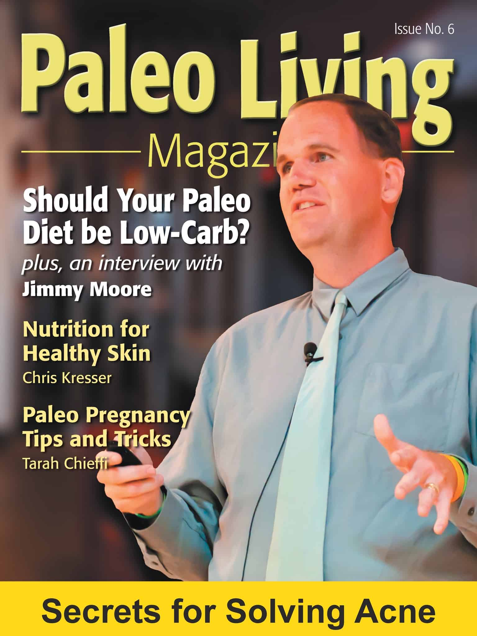 paleo living mag January 2013