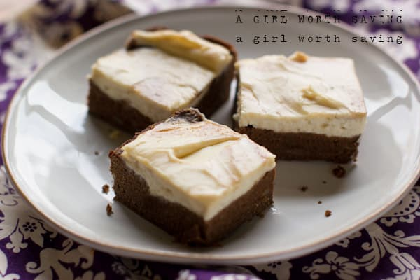 Gluten Free Cheesecake Brownies coconut flour