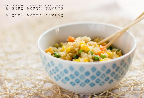 10 minute paleo fried rice