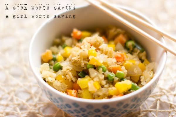10 minute paleo fried rice