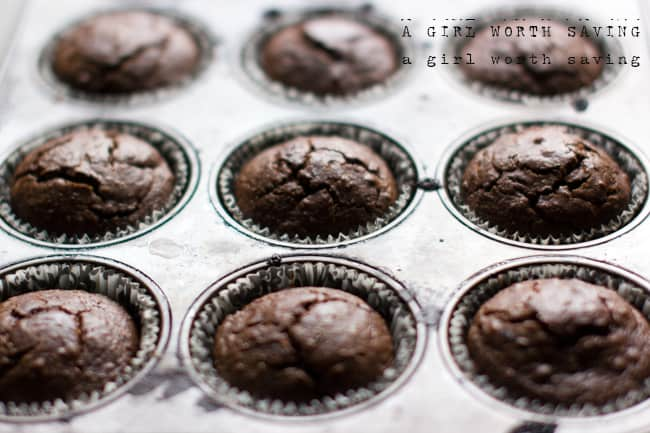 Paleo Chocolate Cupcakes with Mint - Paleo Recipes, Gluten-free ...