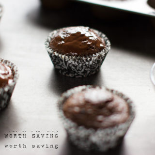 Paleo Chocolate Cupcakes with Mint