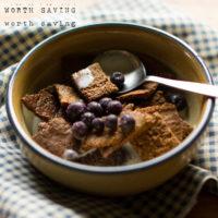 Paleo Cinnamon Square Crunch Cereal