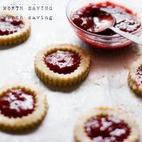Paleo Strawberry Jam Cookies