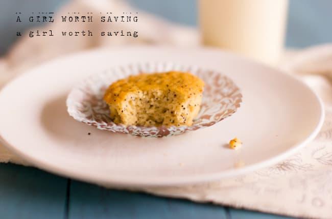 paleo lemon poppy seed muffins Gluten Free