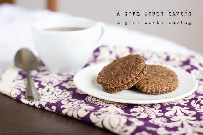 Paleo Blueberry Ginger Soft Crackers
