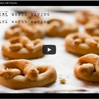 hot to make soft pretzels video