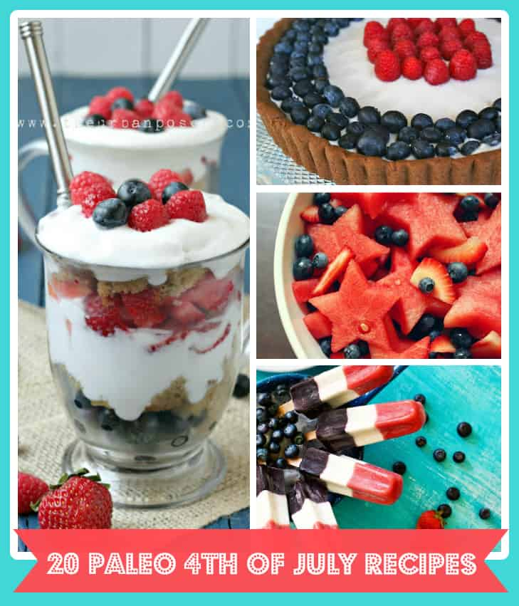 Paleo 4th of July Recipes
