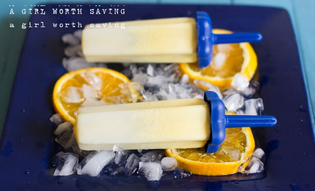 paleo orange creamsicle popsicles