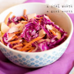 Easy Lime Coleslaw