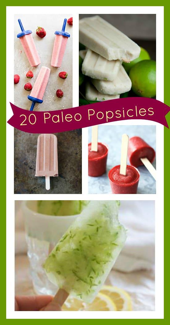 20 paleo popsicles