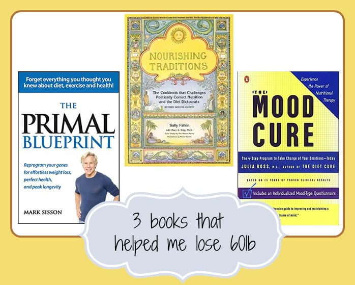 3 books that helped me lose 60lbs