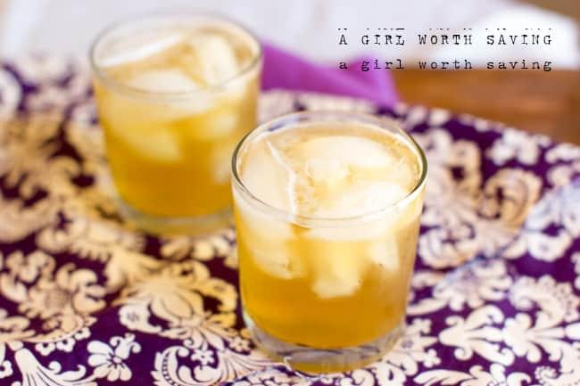 Coconut Chai Spritzer Paleo Soda