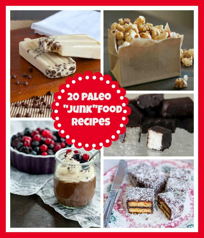 Paleo Junk Food recipes | A Girl Worth Saving