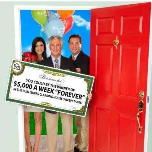 Publisher's Clearing House Win $5000 for Life