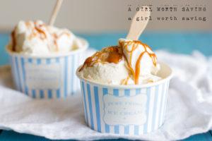 Primal Salted Caramel Ice Cream