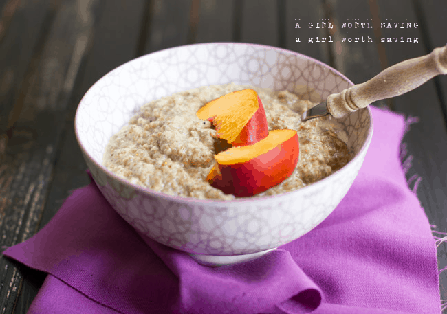 Paleo Oatmeal | A Girl Worth Saving