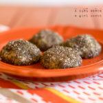 Sticky Rice Balls Paleo Vegan Gluten-Free