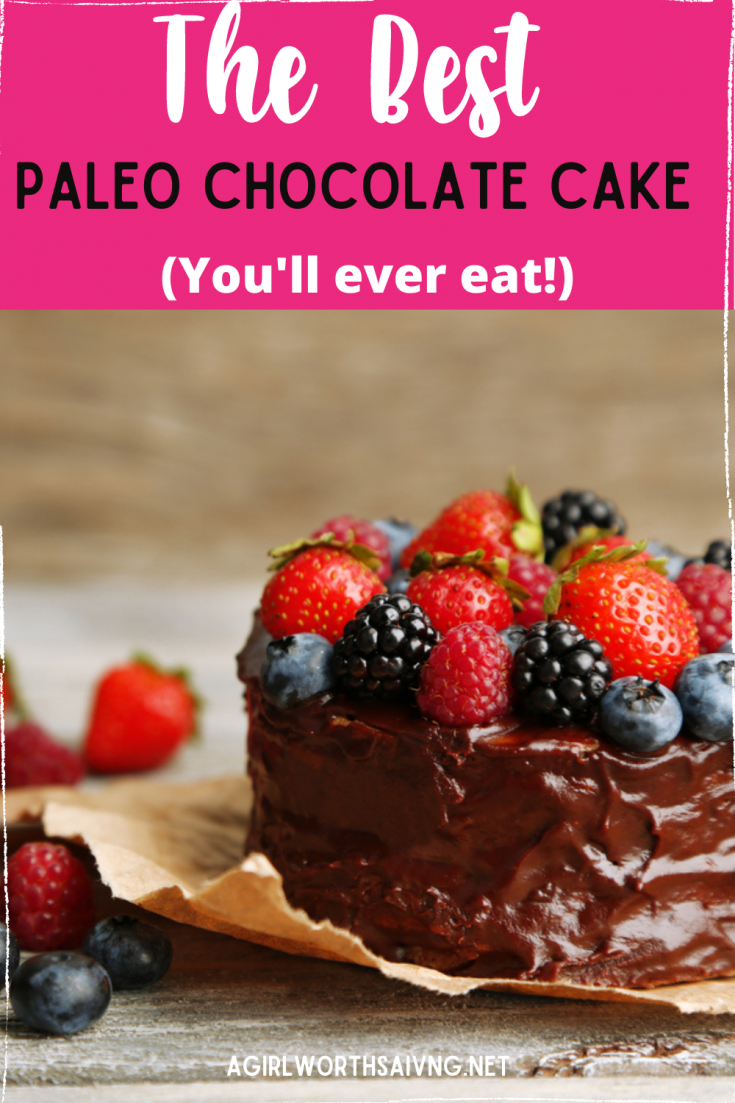 If you're looking for a delicious Paleo chocolate cake recipe, you're not going to want to miss out on this delicious dessert. Paleo Chocolate Cake will make you feel like living your diet life isn't so hard at all! (Dare I say that this is one of the best Paleo Chocolate Cake recipes, ever?!)