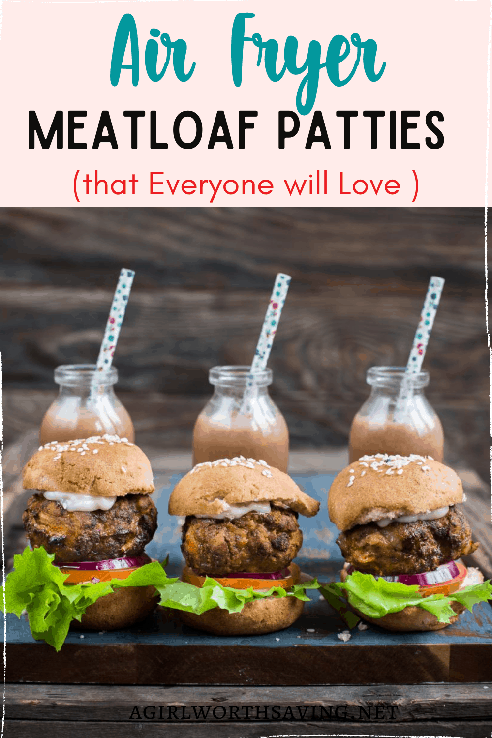 If you're looking for a great meatloaf recipe, this Air Fryer Meatloaf recipe is perfect. Not only are the ingredients simple and easy to use but the flavor is truly unlike anything you've tried. This is one of my top comfort food dishes that I can't wait to share these delicious air fryer meatloaf patties with all of you.