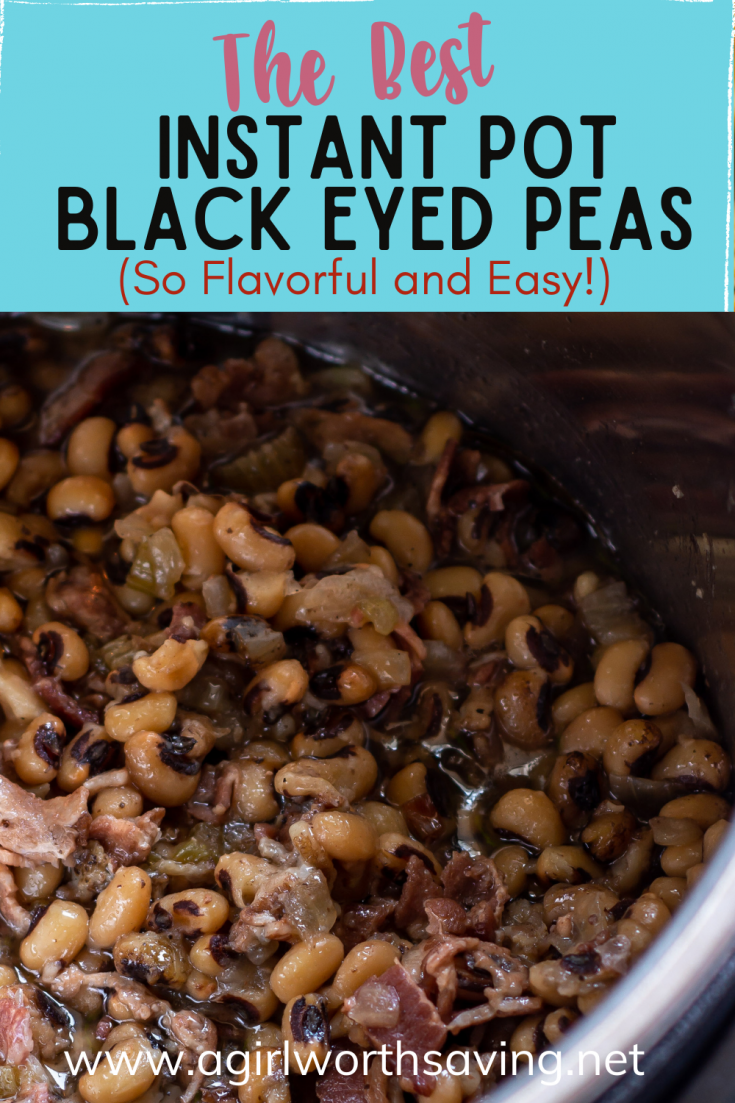 Black-eyed peas are one of the most delicious Southern meals. Check my instant pot black eyed peas recipe, and you'll love the warm flavorful taste of this ultimate comfort food.